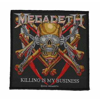 Patch MEGADETH - KILLING IS MY BUSINESS, RAZAMATAZ, Megadeth