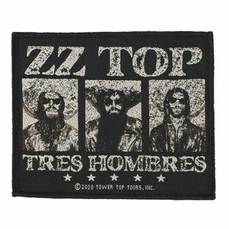 Patch ZZ TOP - TRES HOMBRES, RAZAMATAZ, ZZ-Top