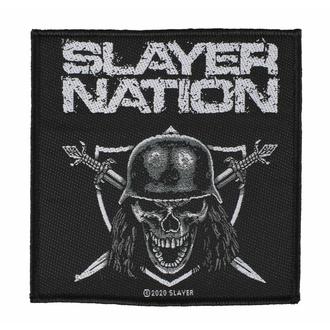 Patch SLAYER - SLAYER NATION, RAZAMATAZ, Slayer