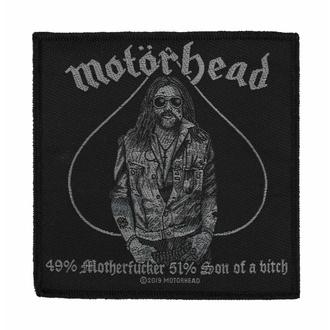 Patch Motörhead - 49% MOTHERFUCKER, RAZAMATAZ, Motörhead