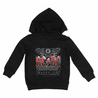 Kinder Kapuzenpullover AC/DC - (Black Ice), Metal-Kids, AC-DC