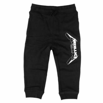 Kinderhose (Jogginghose) Metallica - (Logo) - Schwarz - Weiß, Metal-Kids, Metallica