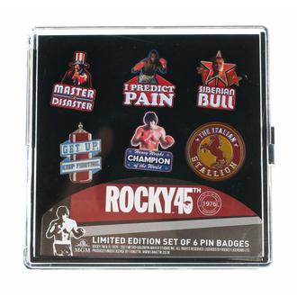Buttons (Set aus 6 Stück) Rocky, NNM, Rocky