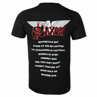 Herren T-Shirt SAXON - WHELS OF STEEL - RAZAMATAZ - ST2434