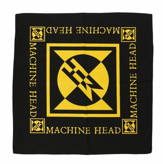 Einstecktuch MACHINE HEAD - DIAMOND LOGO, RAZAMATAZ, Machine Head