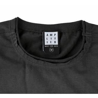 Herren T-Shirt AC/DC - I POWER UP LOGO - CHARCOAL - AMPLIFIED, AMPLIFIED, AC-DC