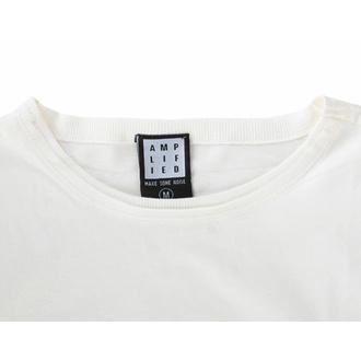 Herren T-Shirt RAMONES - VINTAGE SHIELD - VINTAGE WHITE - AMPLIFIED, AMPLIFIED, Ramones