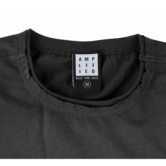 Herren T-Shirt FOO FIGHTERS - ONE BY ONE - CHARCOAL - AMPLIFIED, AMPLIFIED, Foo Fighters