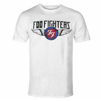 Herren T-Shirt Foo Fighters - Flash Wings - WHT - ROCK OFF, ROCK OFF, Foo Fighters