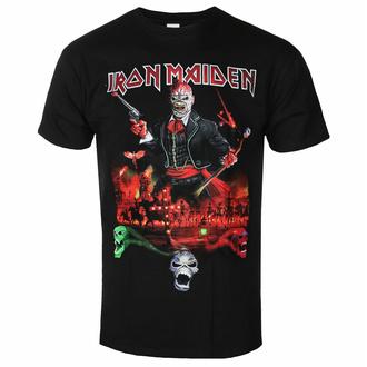 Herren T-Shirt Iron Maiden - LOTB Live Album - Schwarz - ROCK OFF, ROCK OFF, Iron Maiden