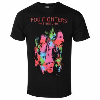 Herren T-Shirt Foo Fighters - Wasting Light - Schwarz - ROCK OFF, ROCK OFF, Foo Fighters