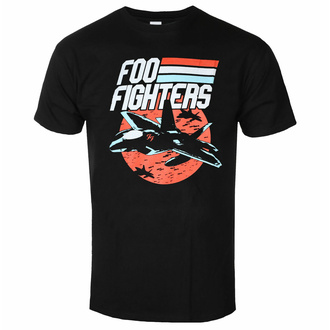 Herren T-Shirt Foo Fighters - Jets - Schwarz - ROCK OFF - FOOTS22MB