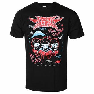 Herren T-Shirt Babymetal - Pixel Tokyo - Schwarz - ROCK OFF, ROCK OFF, Babymetal