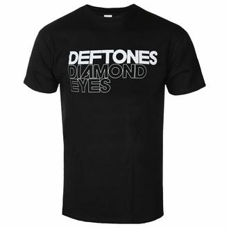 Herren T-Shirt Deftones - Diamond Eyes - Schwarz - ROCK OFF, ROCK OFF, Deftones
