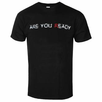 Herren T-Shirt Disturbed - Are You Ready - Schwarz - ROCK OFF, ROCK OFF, Disturbed