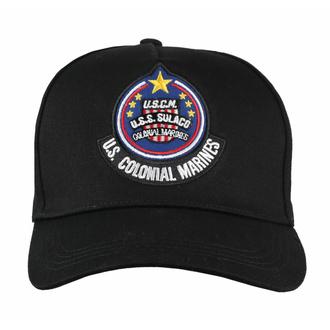Cap Kappe Alien - Curved Bill Cap USS Solaco Badge, NNM, Alien: Das unheimliche Wesen aus einer fremden Welt