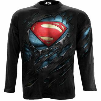 Herren Langarmshirt SPIRAL - Superman - RIPPED, SPIRAL, Superman