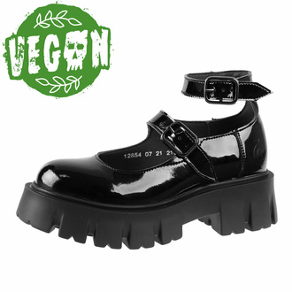 Damen Schuhe ALTERCORE - Constance Vegan Schwarz Patent, ALTERCORE