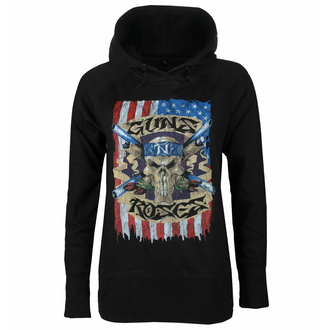Damen Sweatshirt Guns N' Roses - Skull