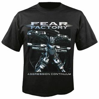 Herren T-Shirt FEAR FACTORY - Aggression continuum, NUCLEAR BLAST, Fear Factory