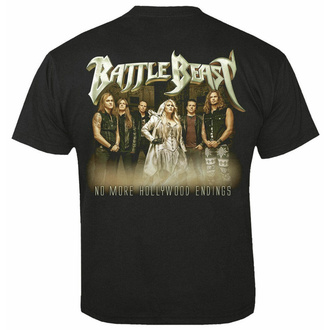 Herren T-Shirt BATTLE BEAST - Hollywood endings, NUCLEAR BLAST