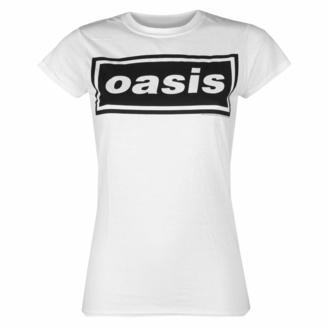 Frauen-T-Shirt Oasis - Decca-Logo - Weiß, NNM, Oasis