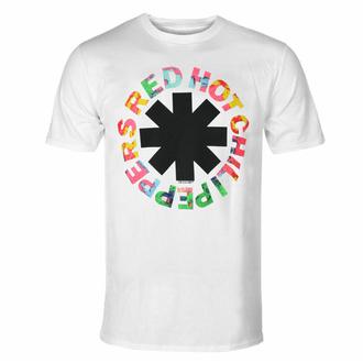 Herren-T-Shirt Red Hot Chili Peppers - Mehrfarben - Weiß, NNM, Red Hot Chili Peppers