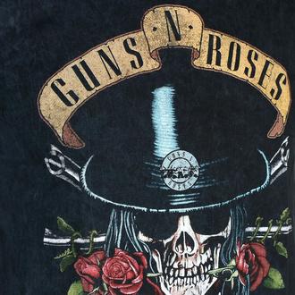 Herren-T-Shirt Guns N' Roses - Appetite Washed - BL Dip-Dye - ROCK OFF, ROCK OFF, Guns N' Roses