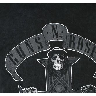 Herren T-Shirt Guns N' Roses - Monochrome Cross - BL Dip-Dye - ROCK OFF, ROCK OFF, Guns N' Roses