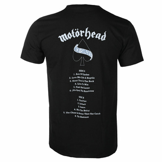 Herren-T-Shirt Motörhead - Ace Of Spades - Trackliste BL - ROCK OFF, ROCK OFF, Motörhead