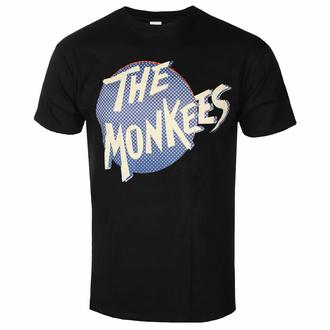 Herren-T-Shirt Monkees - Retro Dot Logo BL - ROCK OFF, ROCK OFF, Monkees