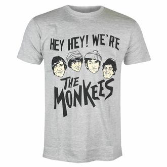 Herren-T-Shirt Monkees - Hey Hey! - GRAU - ROCK OFF, ROCK OFF, Monkees