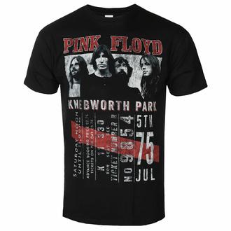 Herren-T-Shirt Pink Floyd - Knebworth '75 BL ECO - ROCK OFF, ROCK OFF, Pink Floyd