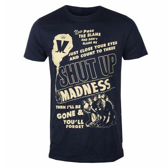 Herren-T-Shirt Madness - Shut Up NAVY - ROCK OFF, ROCK OFF, Madness