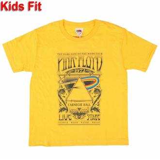 Kinder-T-Shirt Pink Floyd - Carnegie Hall Poster YELL - ROCK OFF, ROCK OFF, Pink Floyd