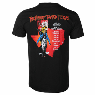 Herren T-Shirt Iron Maiden - The Beast Tames Texas BL - ROCK OFF, ROCK OFF, Iron Maiden