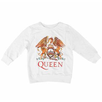Kinder-T-Shirt langarm Queen - Klassisch WHT - ROCK OFF, ROCK OFF, Queen