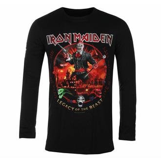Herren-T-Shirt Langarm Iron Maiden - Nights Of The Dead BL - ROCK OFF, ROCK OFF, Iron Maiden