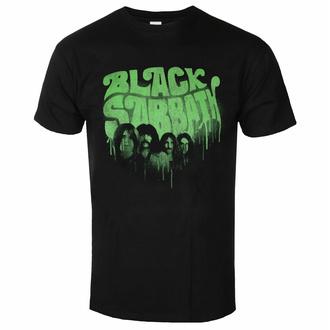 Herren-T-Shirt Black Sabbath - Graffiti Logo BL - ROCK OFF, ROCK OFF, Black Sabbath