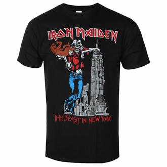 Herren-T-Shirt Iron Maiden - The Beast In New York BL - ROCK OFF, ROCK OFF, Iron Maiden