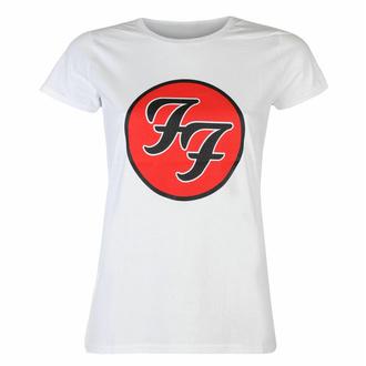 Frauen-T-Shirt Foo Fighters - Logo WHT - ROCK OFF, ROCK OFF, Foo Fighters
