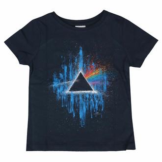 Kinder-T-Shirt Pink Floyd - DSOTM Blue Splatter NAVY - ROCK OFF, ROCK OFF, Pink Floyd