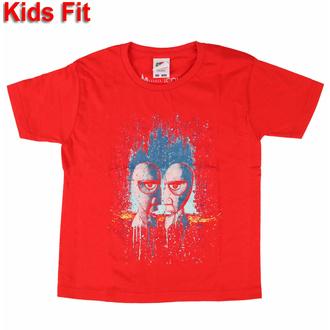 Kinder-T-Shirt Pink Floyd - Division Bell Drip ROT - ROCK OFF, ROCK OFF, Pink Floyd