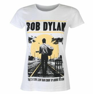 Damen-T-Shirt Bob Dylan - Slow Train WHT - ROCK OFF, ROCK OFF, Bob Dylan