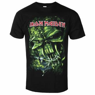 Herren-T-Shirt Iron Maiden - Final Frontier Grün BL - ROCK OFF, ROCK OFF, Iron Maiden