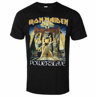 Herren-T-Shirt Iron Maiden - Powerslave World Slavery To ur BL - ROCK OFF, ROCK OFF, Iron Maiden