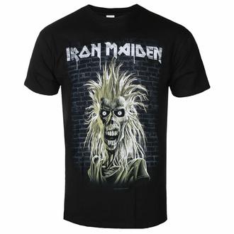 Herren-T-Shirt Iron Maiden - Eddie 40th Jahrestag BL - ROCK OFF, ROCK OFF, Iron Maiden