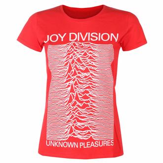 Damen-T-Shirt Joy Division - Unknown Pleasures FP ROT - ROCK OFF, ROCK OFF, Joy Division