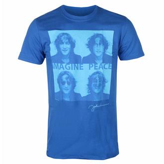 Herren-T-Shirt John Lennon - Brille 4 Up BLAU - ROCK OFF, ROCK OFF, John Lennon