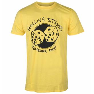 Herren-T-Shirt Rolling Stones - Tumbling Dice YELL - ROCK OFF, ROCK OFF, Rolling Stones